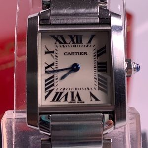 Pre-owned Cartier Tank Watch